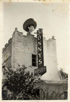 Amigo was the signature mark of Santangelo family's old retail nursery.